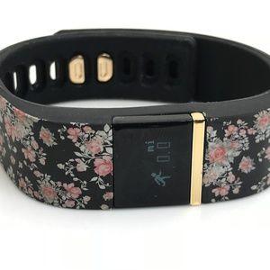 iFitness Women Watch Activity Tracker Black Floral